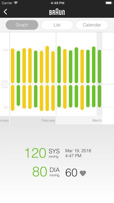 Braun Healthy Heart screenshot two