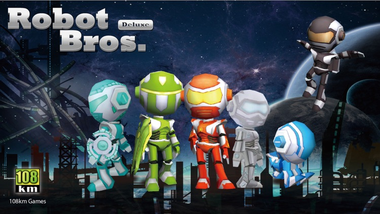 Robot Bros Deluxe. screenshot-0