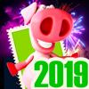 Silvester Frohes Neujahr 2019