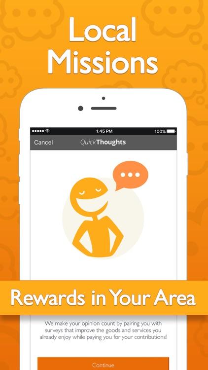 QuickThoughts - Earn Rewards screenshot-3