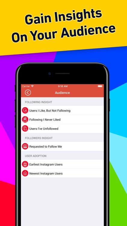 Followers Tracker Pro screenshot-3
