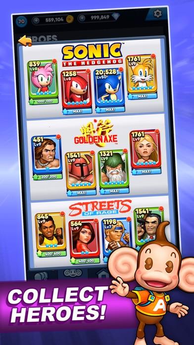 SEGA Heroes: Match 3 RPG Game screenshot 6