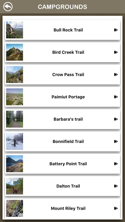 Alaska Hiking Trails screenshot-2