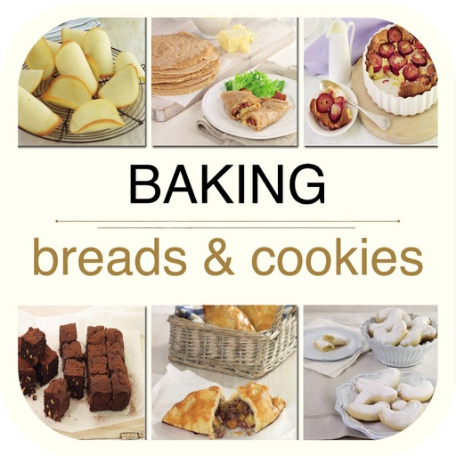 Baking - Breads & Cookies Cookbook