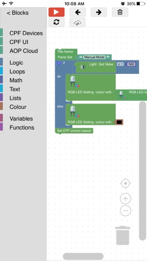 CPF Arduino Blockly on the App Store