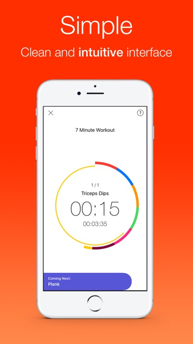 Intervals - Your smart and personal workout trainer Screenshot 1