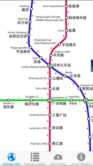 Suzhou Subway Map.Suzhou Metro Map On The App Store
