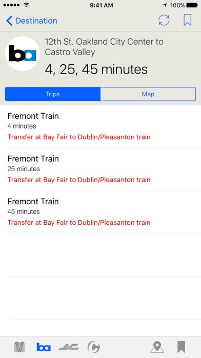 Routesy Pro Bay Area Скриншоты7