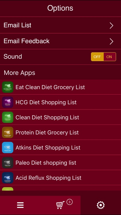 Ketogenic Diet Shopping List screenshot-4