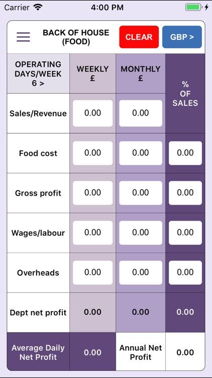 Food & Beverage Costing