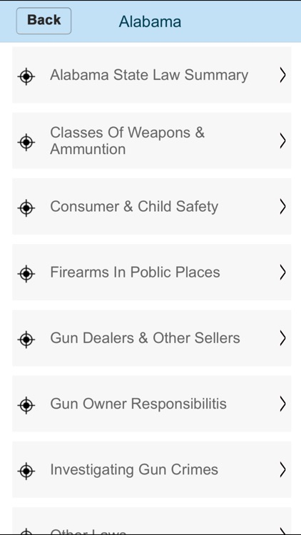 Fifty-50 States CCW Rules 2017 screenshot-3
