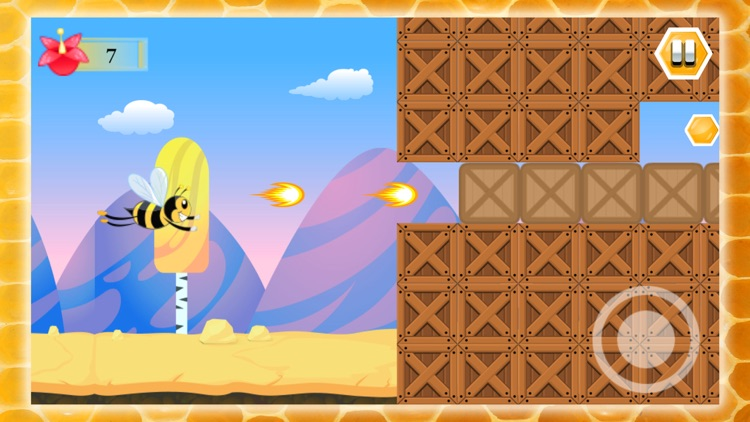 Flying Bee Honey Action Game