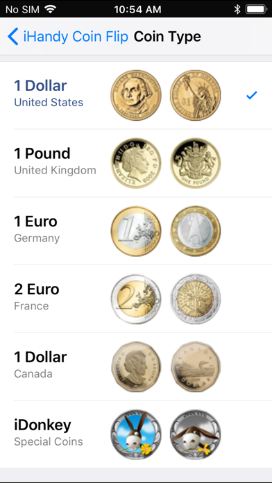 Coin Flip Plus screenshot three