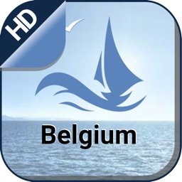 Belgium boating gps Nautical offline marine charts