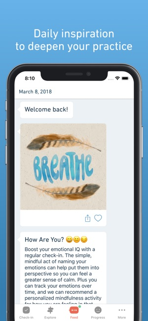 Stop Breathe Think On The App Store