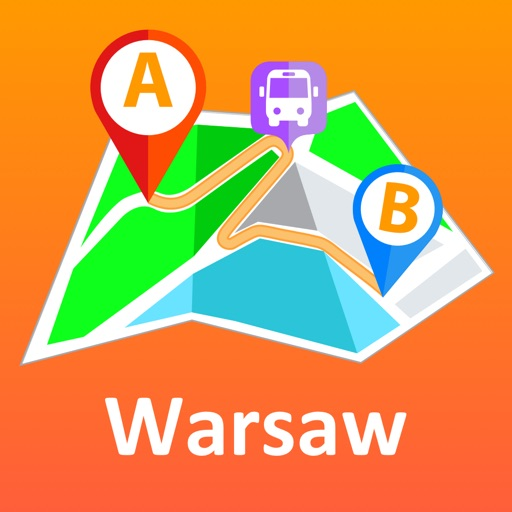 Warsaw offline map & transport