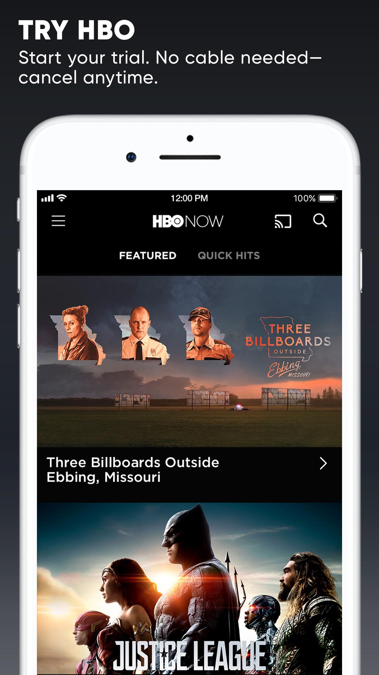 HBO NOW Screenshot