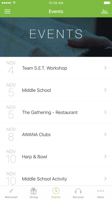 The Warehouse Church App screenshot 3