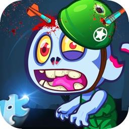 僵尸大作战 - 滚动的怪物大战僵尸游戏