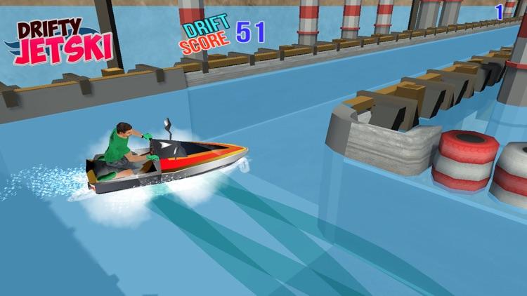 Drifty JetSki : Drift Games screenshot-4