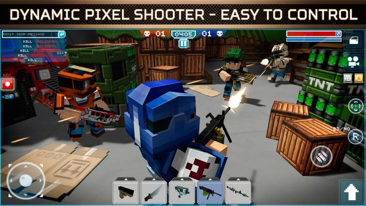 Blocky Cars Online Shooter screenshot-3