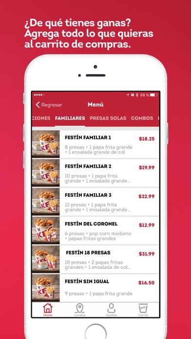 Screenshot for KFC Ecuador in Germany App Store