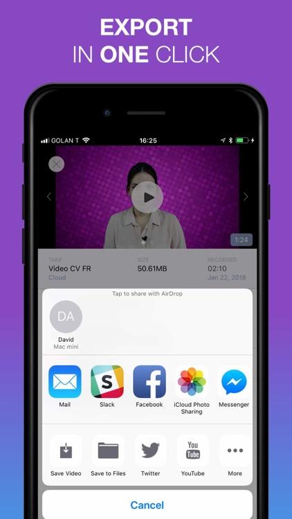 BIGVU - Teleprompter Pro Lite screenshot-3