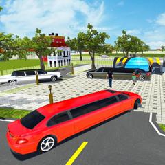 Limousine Taxi: City Driving