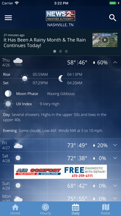 Wkrn review screenshots