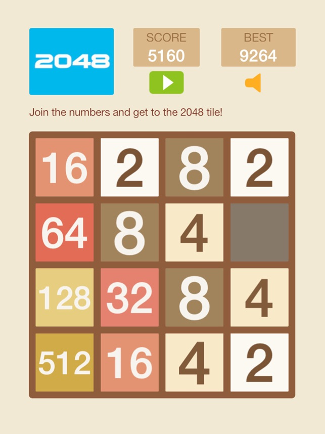 2048 HD - Snap 2 Merged Number Puzzle Game