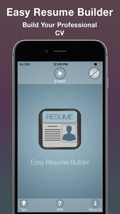 Easy Resume Builder : CV Maker