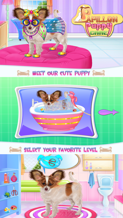Papillon Puppy Day Care Screenshot