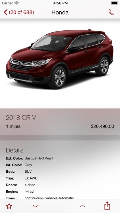 Hillside Honda DealerApp