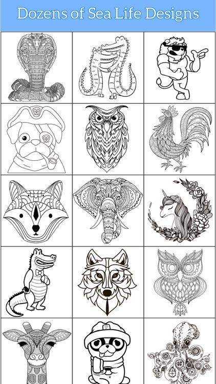 Animal Coloring Pages Art Book screenshot-3
