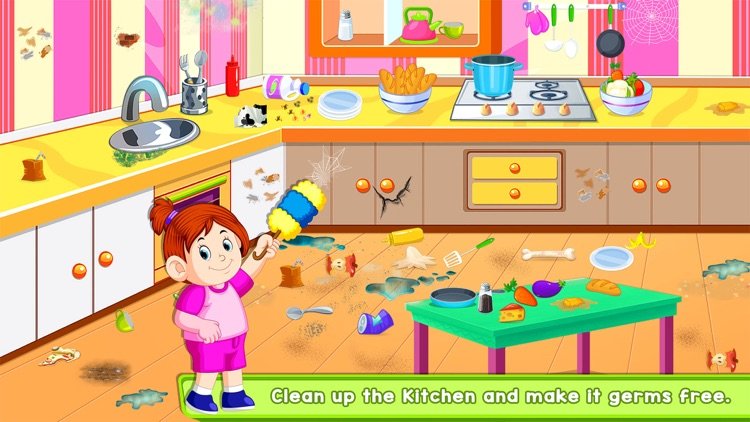 Kids Cleanup Games screenshot-3