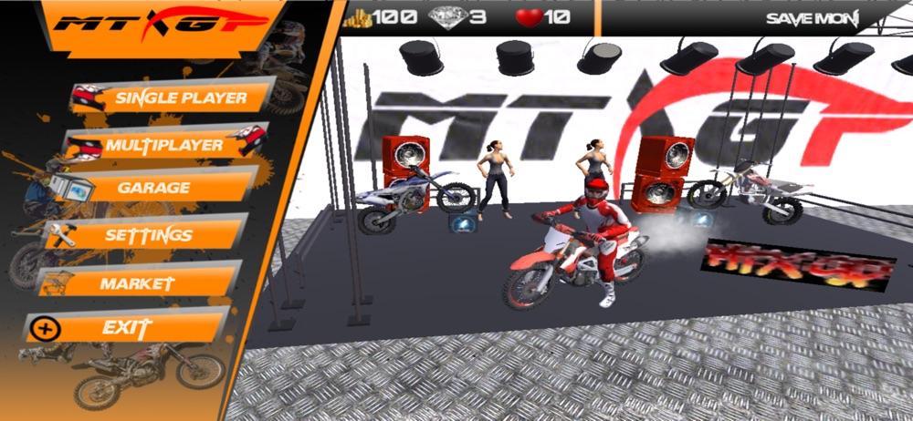 MTX GP: Motor-cycle Racing 3D Cheat Codes