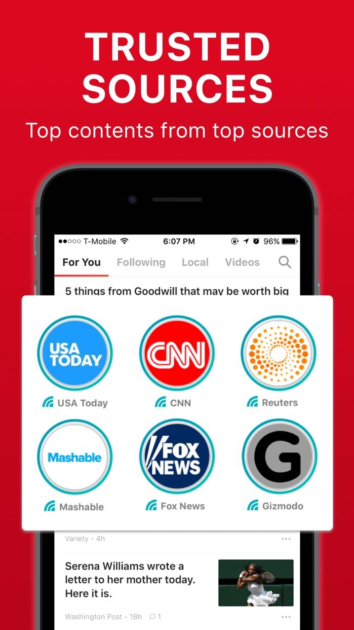 News Break: Local & World Now Screenshot