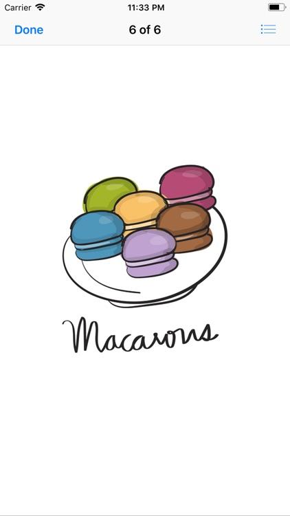 Macaron Stickers screenshot-9