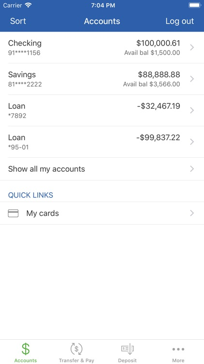 Norway Savings Mobile App screenshot-2