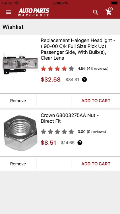 Auto Parts Warehouse screenshot-4