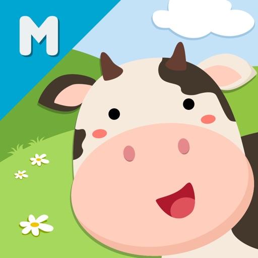 ABC My Little Farm Busy Shapes iOS App