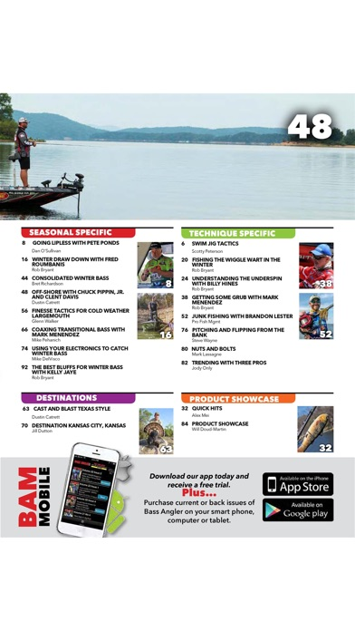 Bass Angler Magazine review screenshots
