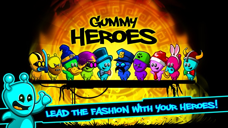 Gummy Heroes screenshot-1