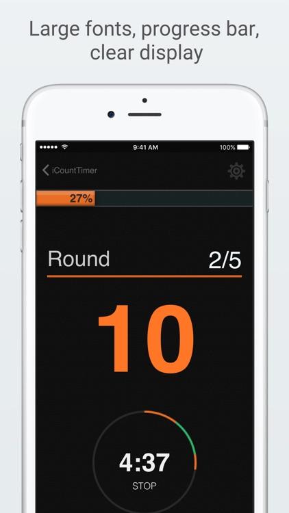 iCountTimer Pro screenshot-0