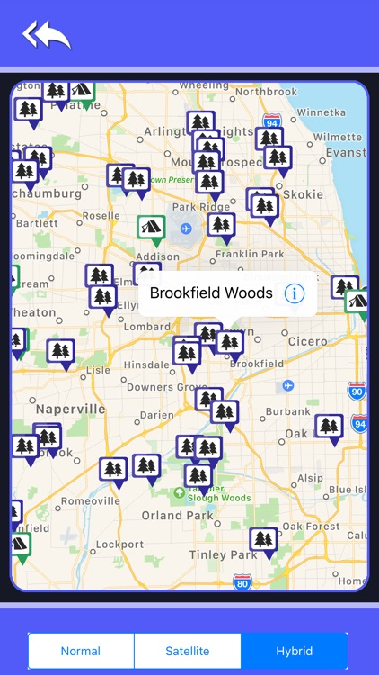 Illinois Camping & State Parks screenshot-4