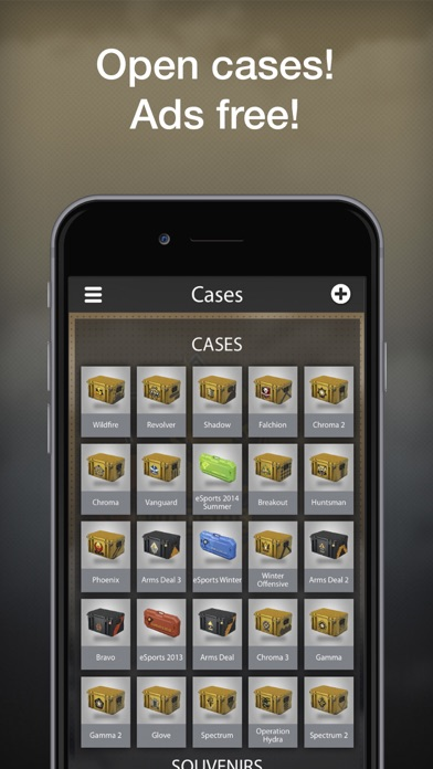 Screenshot for Case Opener Ultimate - Offline in Portugal App Store