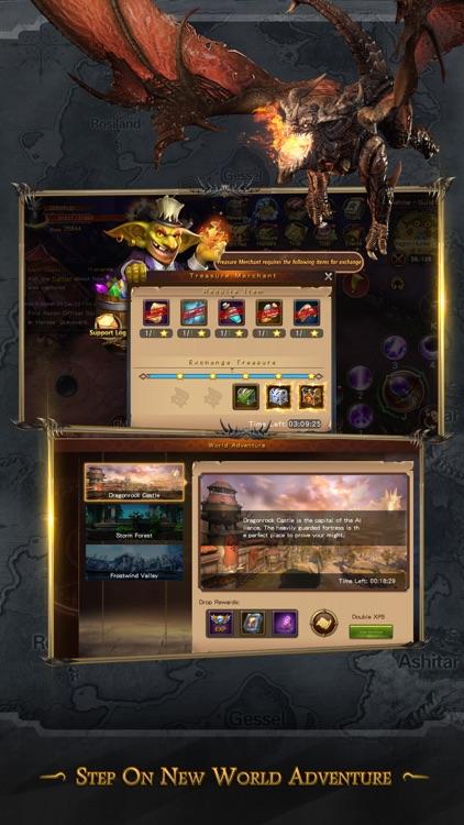 Dragon Revolt - Classic MMORPG screenshot-4