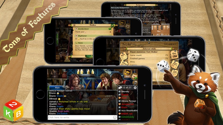 Backgammon Masters screenshot-4