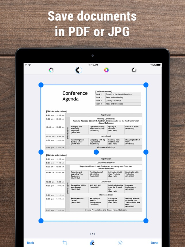 iScanner PDF Scanner App on