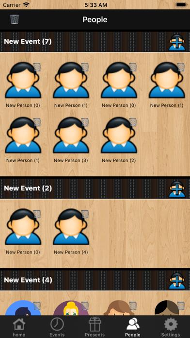 iPresents - Great Organizer screenshot four